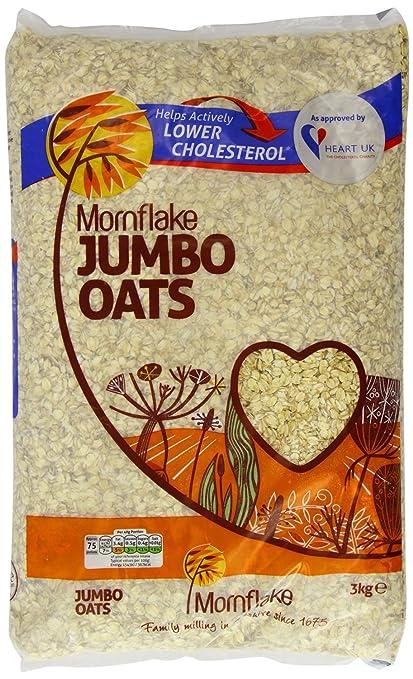 5 opinioni per Mornflakes avena jumbo- 1 x 3kg