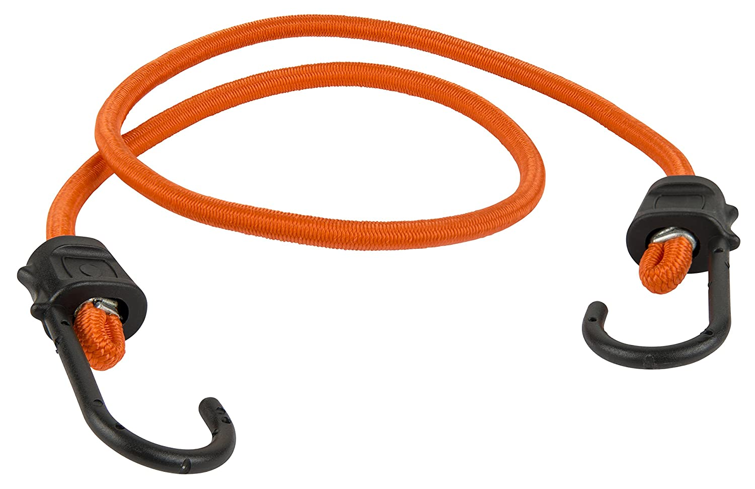 2 Pack Keeper 06047 48 Premium Bungee Cord with SST Hooks