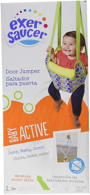 05c50be0e Amazon.com   Exersaucer Doorway Jumper - Superstar   Baby
