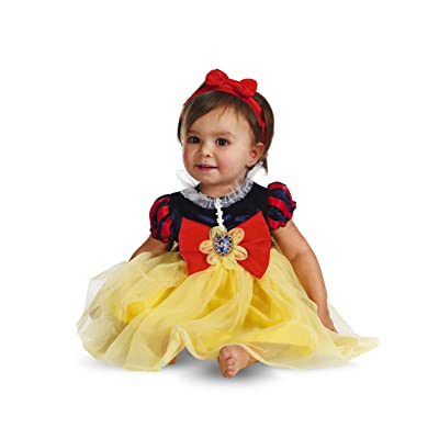 Disguise My First Disney Snow White Costume, Red/Blue/Yellow, 12-18 Months: Clothing [5Bkhe0200888]