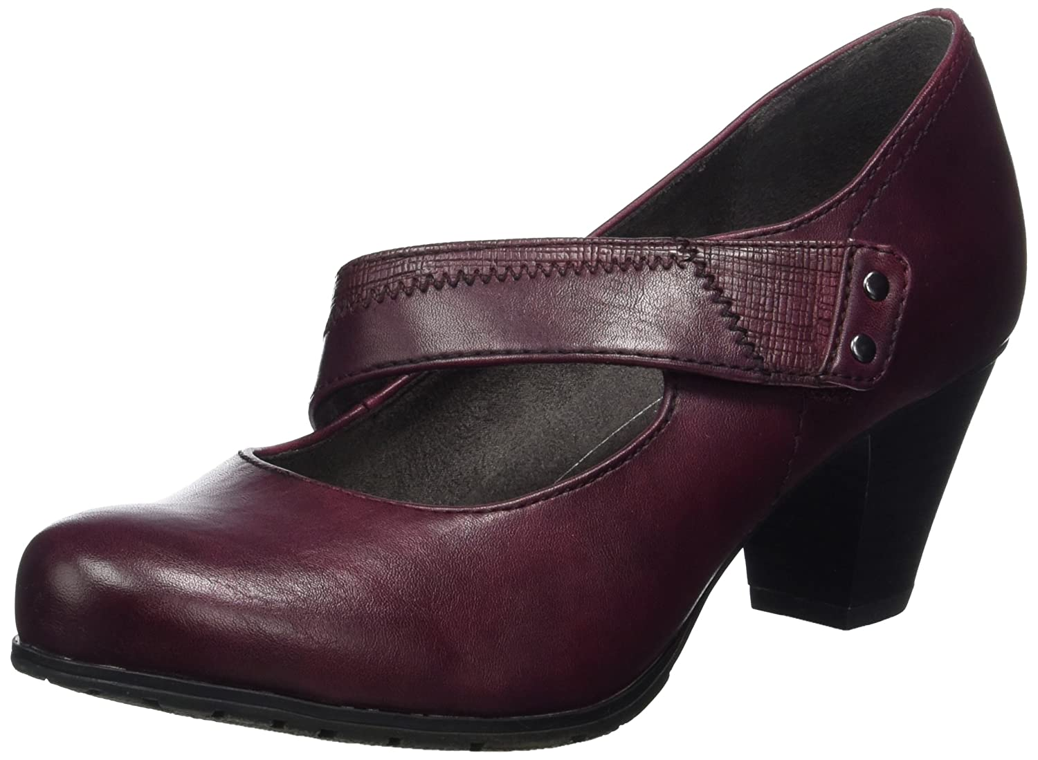 Softline Damen 24460 Pumps Rot Rot Pumps (Bordeaux) 1e89bd