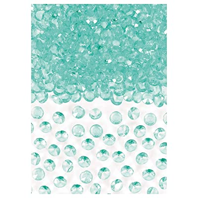 Amscan 370257.121 Robin's‑egg Blue Confetti Gems, 1 oz: Kitchen & Dining