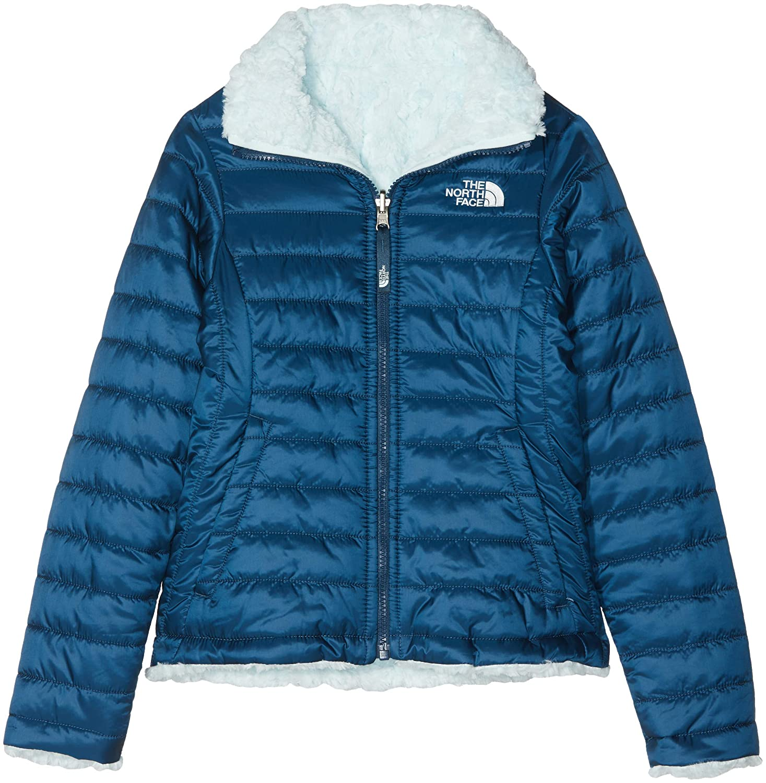 The North Face Kids TNF TNF TNF Chaqueta Reversible Mossbud Swirl, Niñas, Azul Wing Teal/Origin Azul, XL 4908c3