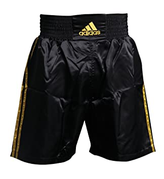 2b15a6d80ed2a adidas Pantalones Cortos de Boxeo bañador - Negro Oro