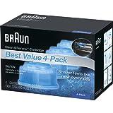 Braun Clean & Renew Frustration Free Refill Cartridges CCR 4