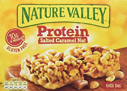 Nature Valley - Barritas de Proteinas con Salted Caramel Nut ...