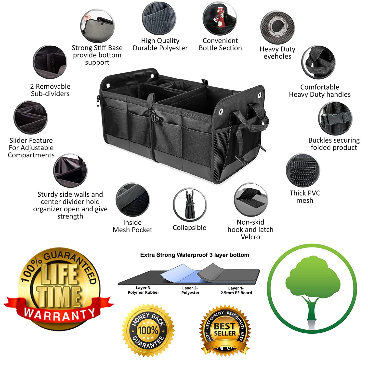 The Best Trunk Organizers For Your Vehicle: Reviews & Buying Guide 8