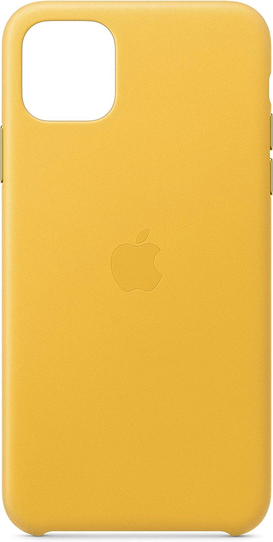 Apple Leather Case (for iPhone 11 Pro Max) - Meyer Lemon