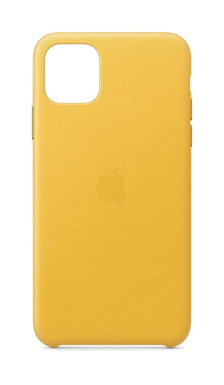 Funda Oficial De Apple Cuero Para iPhone  Pro Max, yellow