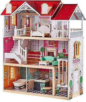 Salle de bains maison de poupée meubles maison de poupée Accessoires Bois Création Poupée