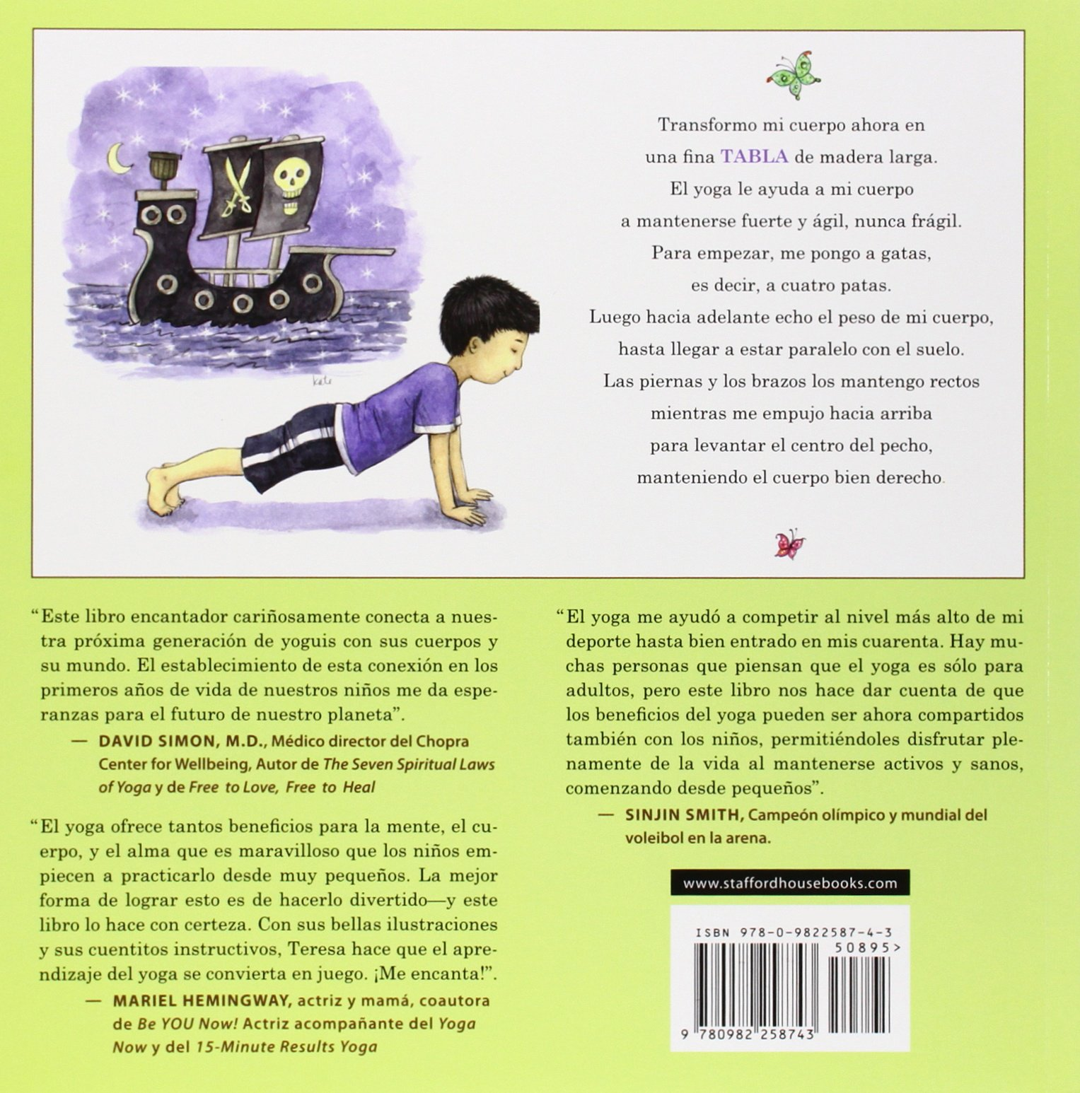 Abece de Yoga para Ninos (Spanish Edition): Teresa Anne ...