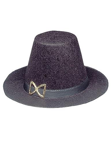 db56b08bce90f Amazon.com  Jacobson Hat Company Women s Permafelt Pilgrim Hat ...