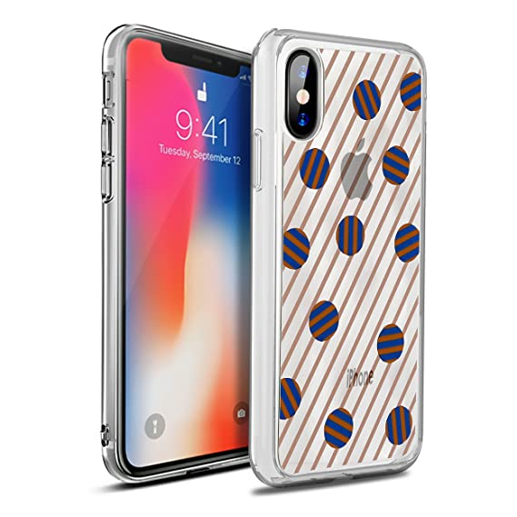 hot sale online f2513 c0b30 OtterBox SYMMETRY CLEAR SERIES Case for iPhone X (ONLY) - Retail Packaging  - Dot the Line