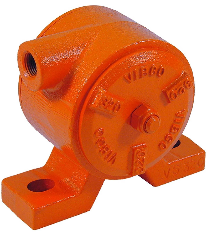 Image of VIBCO VS-320 Silent Pneumatic Turbine Vibrator, 600 lb. Force, 6800 VPM, 11 CFM, 80 psi, 4' Bolt Pattern Home Improvements