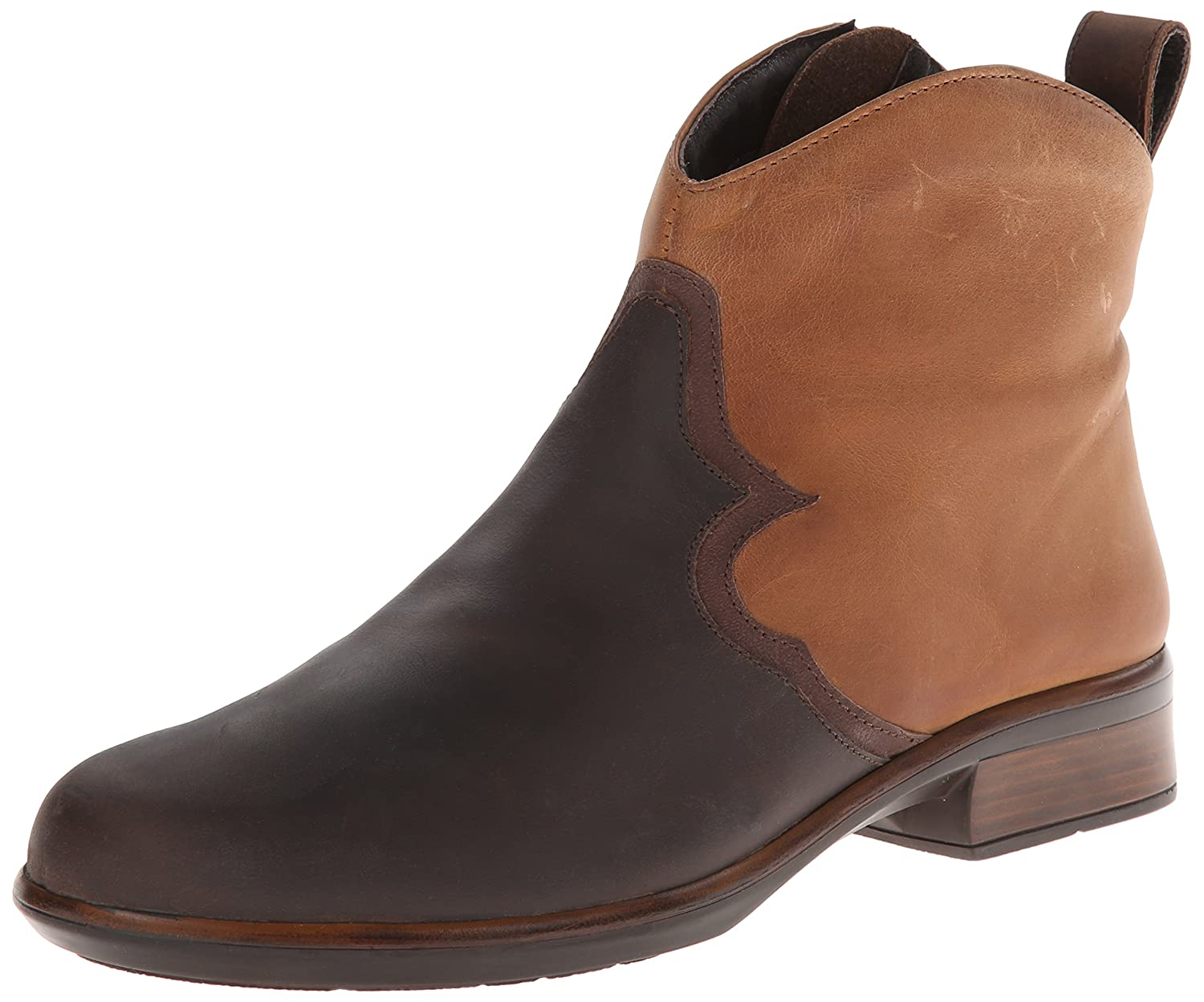 NAOT Women's Sirocco Boot B00IG9XUHW 39 EU/7.5-8 M US|Crazy Horse Leather/Saddle Brown Leather