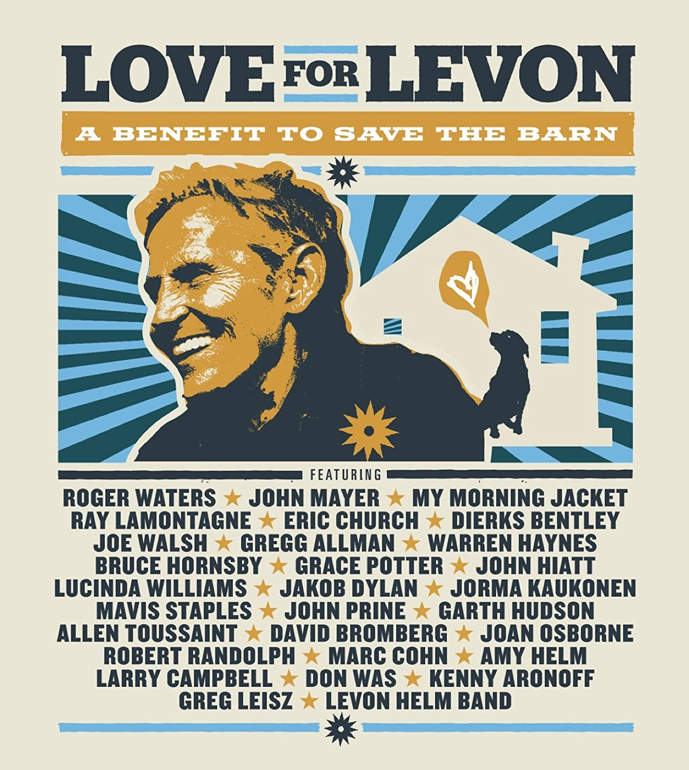 Love For Levon (2xBlu-Ray)