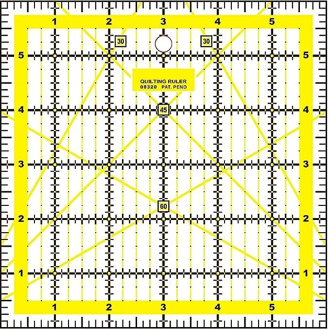 Doc Crafty - Set para colcha de retazos. Incluye tapete de corte plegable tamaño A2, tabla de corte autocicatrizante, reglas acrílicas, transparentes y ...