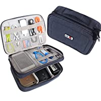 BUBM Estuche para Electrónicos Organizador de Accesesorio Bolsa de Viaje para Cables Cargador,Gadget de Memoria USB…
