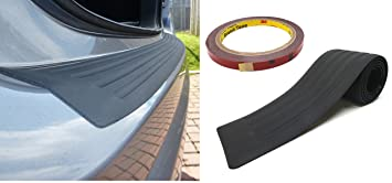 104cm Long Connected Essentials 5117720 Rubber Car Bumper Protective Strip for Estates and SUV