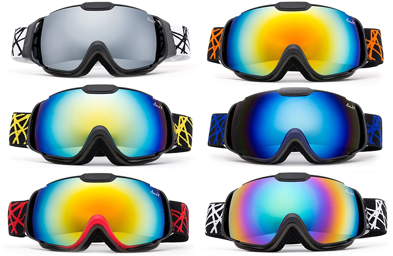 a85f62d6cc00 Cloud 9 - Professional Kids Boys and Girls Snow Goggles Vulture Anti-Fog  Dual Lens UV400 Protection Triple Layered Foam Snowboarding Ski Goggles  Multi ...