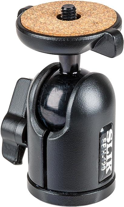 Black 618-610 SLIK SBH-100 Medium Compact Ballhead lbs. Supports 2.2 lbs