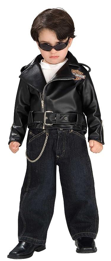Amazon.com: Rubie s Costume Harley Davidson Motocicleta del ...