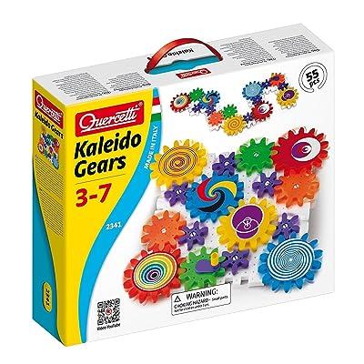 Quercetti Qa2341 52 Pc Georello Kaleidogears: Toys & Games