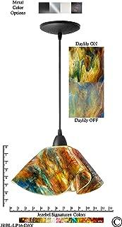 product image for Jezebel Signature JRBL-LP16-DAY Black Lily Pendant, Large, Daylily
