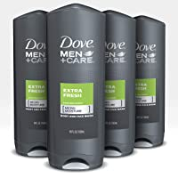 Deals on 8-Count Dove Men+Care Body Wash and Shower Gel Extra Fresh