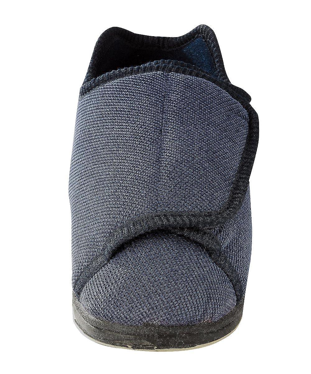 46b600bac5eae Womens Extra Extra Wide Width Adjustable Slippers - Diabetic & Edema  Footwear