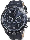 Cerruti - CRA104SUB02GY - Montre Homme - Quartz Analogique - Bracelet cuir gris