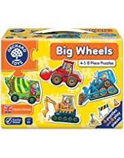 Orchard Toys Big Wheels Jigsaw Puzzle