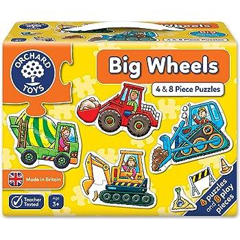 Amazon Com Orchard Toys Big Fire Engine Shaped Floor