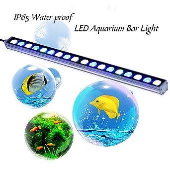Barra de luces LED Roleadro de 55cm 54W para acuarios marinos y
