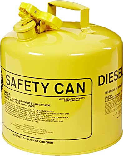 Eagle UI-50-SY Type I Metal Safety Can, Diesel