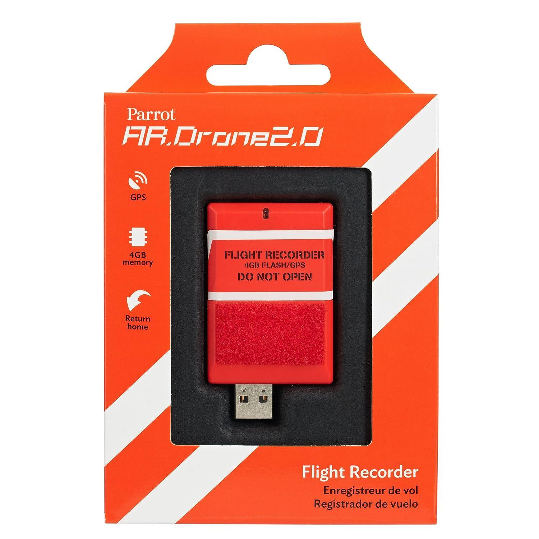 Amazon.com: Parrot AR.DRONE 2.0 Flight Recorder: GPS, 4GB, return ...