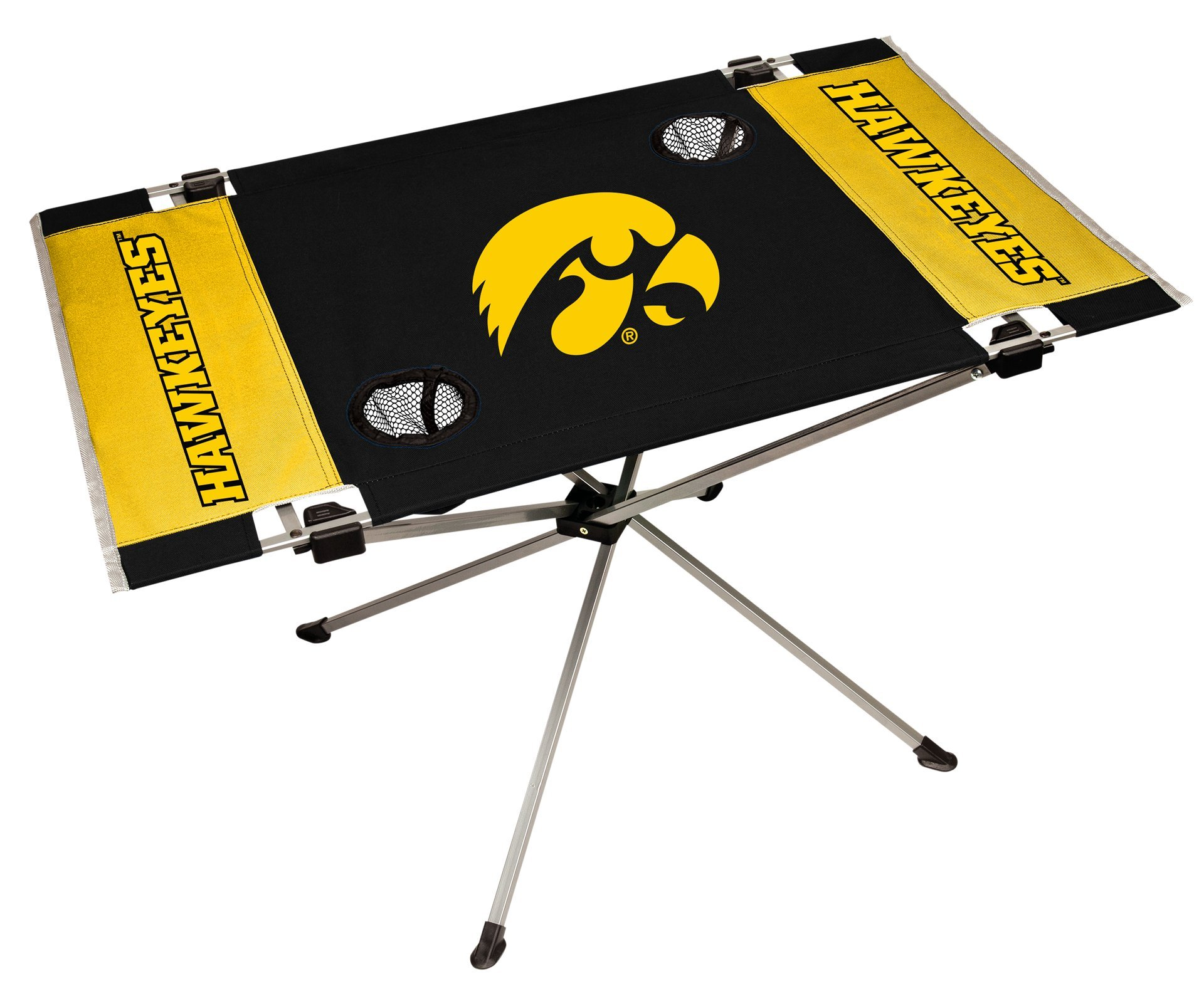 Rawlings NCAA Portable Folding Endzone Table, 31.5 in x 20.7 in x 19 in by Rawlings