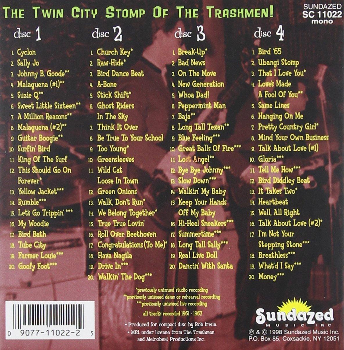 Bird Call! The Twin City Stomp Of The Trashmen by Trashmen, The