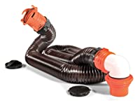 Camco 39770 RhinoFLEX 15' RV Sewer Hose Kit with Swivel Fitting