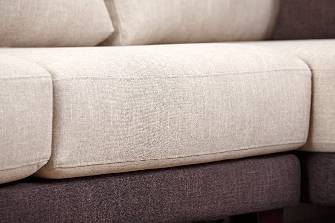 Pleasant Abbyson Living Juliette Fabric Sectional Sofa Caraccident5 Cool Chair Designs And Ideas Caraccident5Info