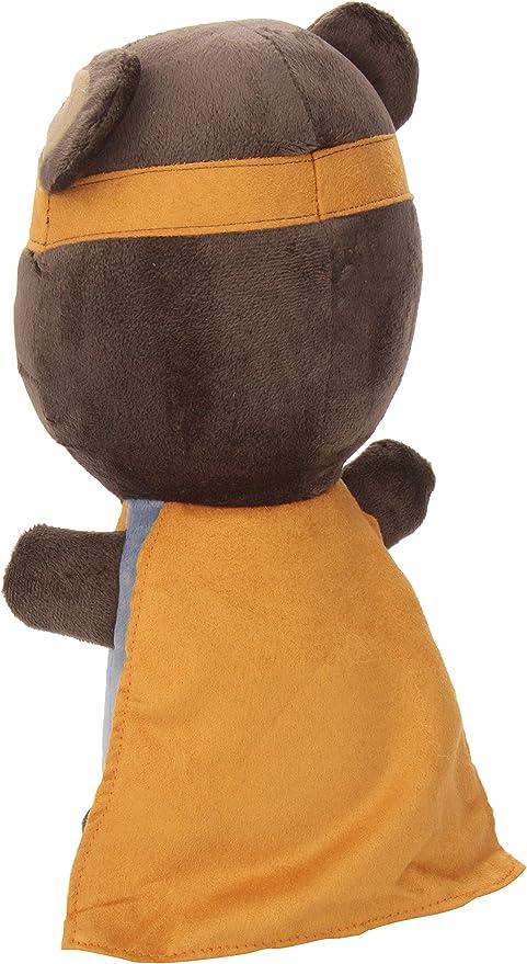 Brown//Blue//Red//Yellow Cocalo Superhero Pals Plush