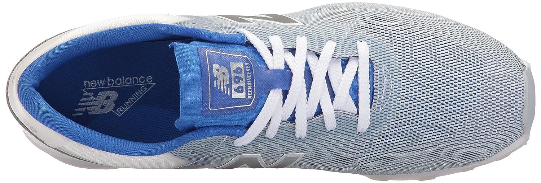 New Balance Women's 696 B01LWPXT9R Re-Engineered Lifestyle Fashion Sneaker B01LWPXT9R 696 7.5 B(M) US|Blue/White b9d13d