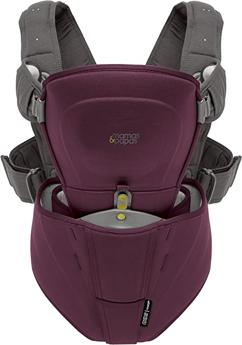 NEW BOXED prune violet Mamas and Papas Morph Baby Carrier Liner-Protecteur