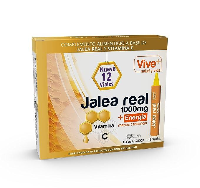Vive+ Jalea Real para Adultos - 3 Paquetes de 12 Unidades: Amazon.es: Salud y cuidado personal