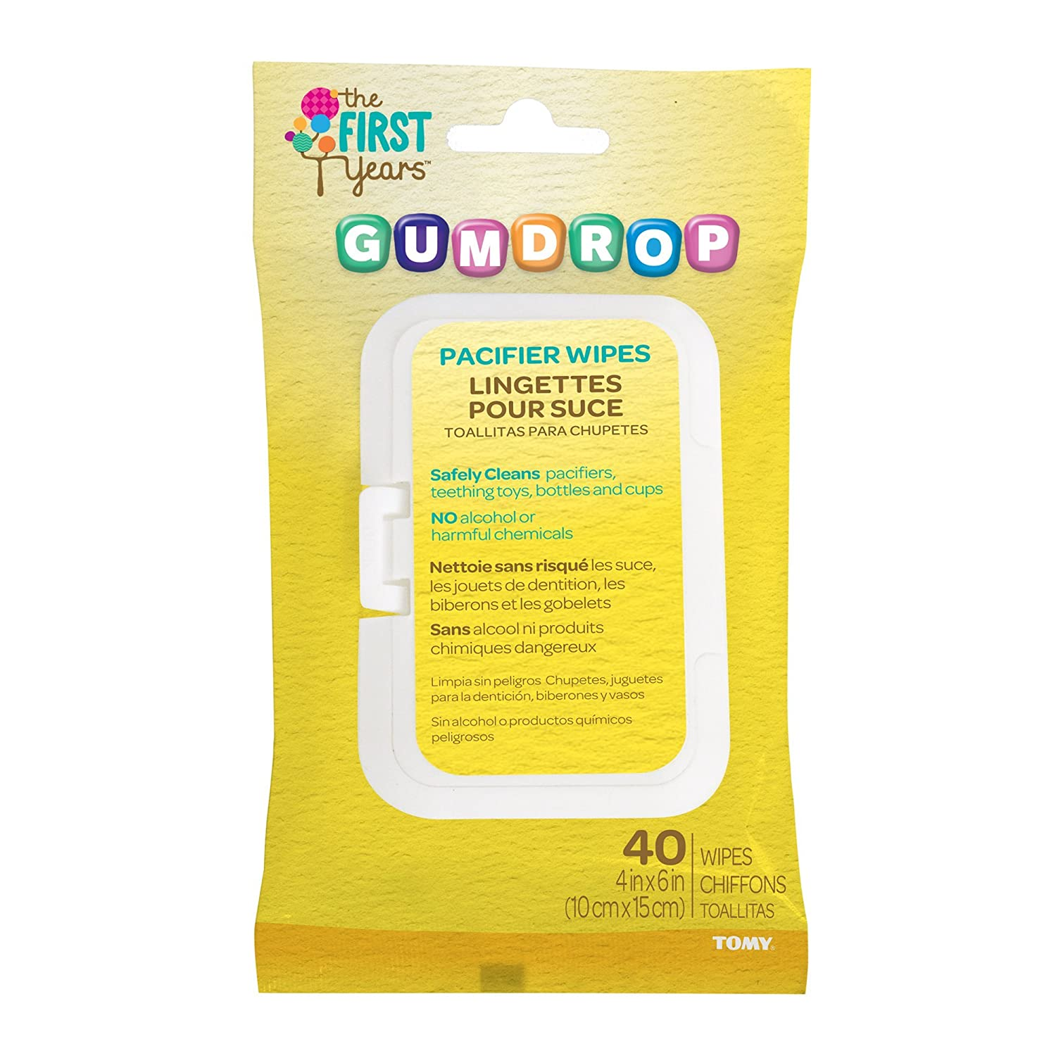 Amazon.com : Gumdrop Chupete Wipes : Baby