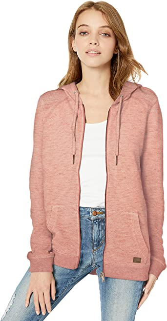 Roxy Womens Trippin Zip Up Hoodie