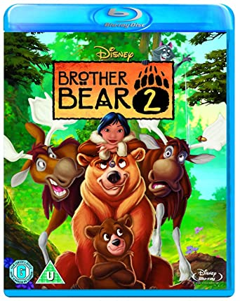 Amazoncom Brother Bear 2 Blu Ray Region Free Patrick Dempsey