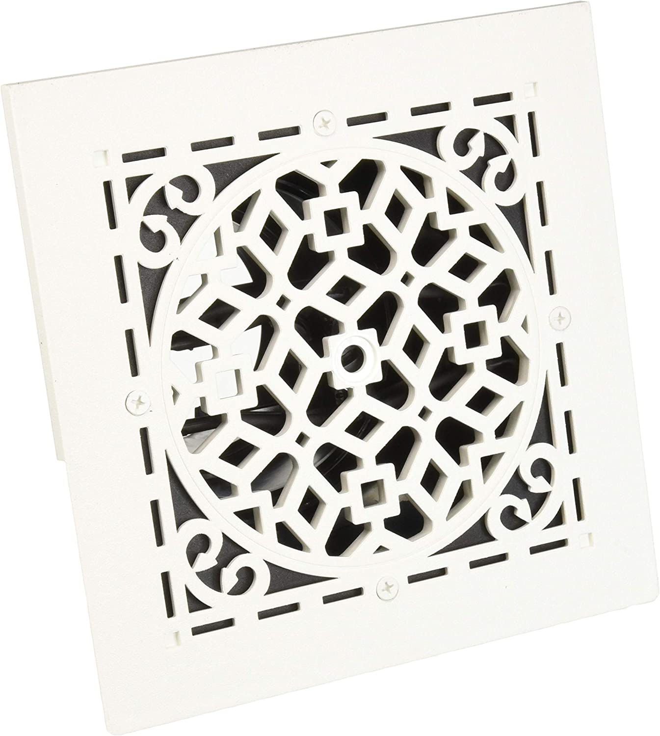 Gill Tin Metal White Ventilation Grille Ventilation weather grille