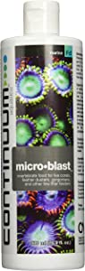 Continuum Aquatics Micro Blast - Liquid Invertebrate Food for Growth and Coloration in Corals and Other Filter Feeders