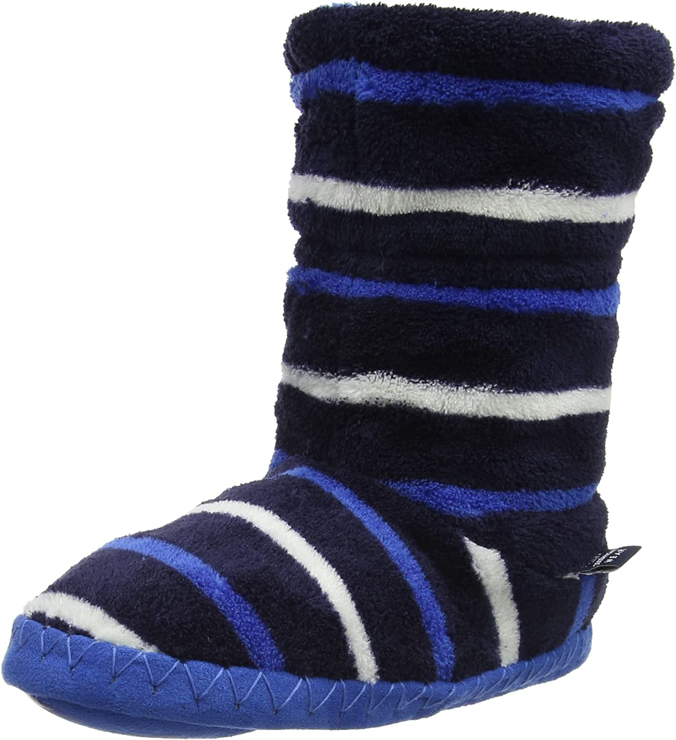 Joules Boys' Pad about Hi-Top Slippers